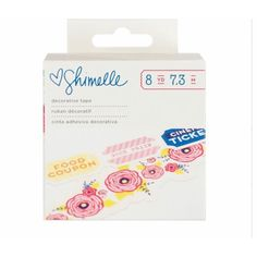 Floral & Tickets Decorative Tape
