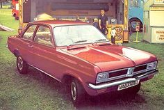 Vauxhall Viva - like a 1970s American car shrunk in the wash
