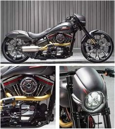 ADVERTISEMENTS A successful customized CVO model that you'll surely love! It features a keyless system – very modern and a feature that is extremely popular on both cars and motorcycles. Click the link to find out more about this bike: The SSR Harley Breakout ADVERTISEMENTS