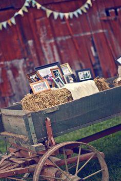 Rustic, Vintage, Barn Wedding decor