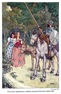 Illustration as it used to be...  - 'The Adventures of Don Quixote De La Mancha' by...