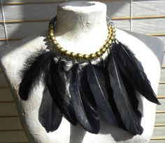 Weather necklace, made for fashion designers.