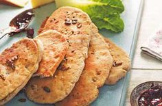 Speedy seeded flat breads recipe - goodtoknow