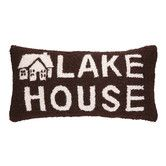 Found it at Wayfair - Lake House Hook Wool Lumbar Pillow