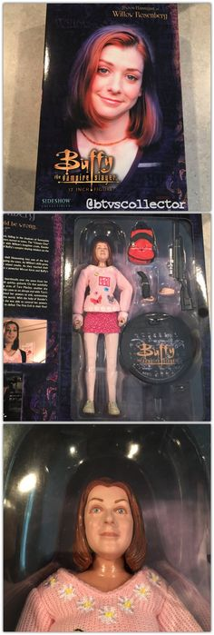 """Sideshow Collectibles (1:6 Scale) 12"""" Buffy the Vampire Slayer Figure - Willow - Exclusive Version Limited to 750. Has orange backpack. #btvscollector #btvs #buffy #buffythevampireslayer"""