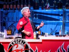 "What's interesting about Guy Fieri is the way that he uses a populist persona to ""sell"" American food. It makes me think about Garcia, moving from a kind of snobbiness towards Cuban culture and Cuban cuisine to someone more homey, open, warm, populist - part of rediscovering his Cubanity"