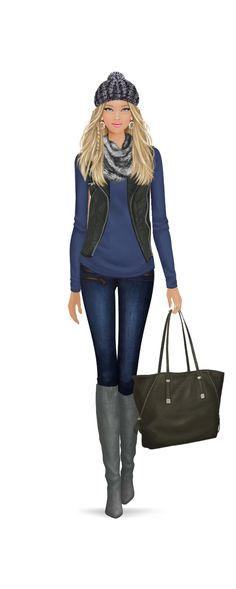 i hate this is a barbie but i love the look