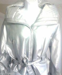 BB Dakota Silver Jacket,  Pret A Porter, Women's Size L