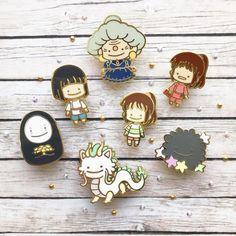 Hayao Miyazaki Howl/'s Moving Castle Ghibli Art Museum Metal Badge Pin Brooch Pre