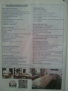 Advertentie in Bulletin De Pijp te Amsterdam