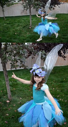 Make your own fairy wings tutorial. No-sew and so easy!