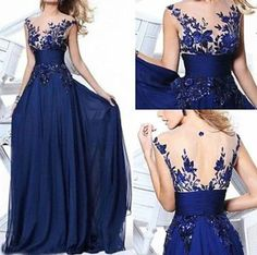 NEW Dress Long Wedding Applique Evening Prom Gown Cocktail Party in Clothing, Shoes & Accessories, Women's Clothing, Dresses | eBay