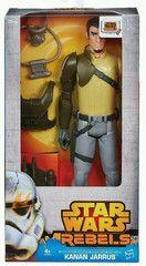 Star Wars Rebels Kanan Jarrus Hero Series 12in Action Figure 2014 New in Box - keywebco - 1