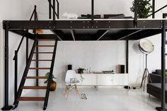 lit mezzanine en mét