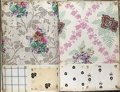 Textile Sample Book    Date:      ca. 1860  Culture:      French Met Museum