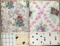 Textile Sample Book    Date:      ca. 1860  Culture:      French Met Museum