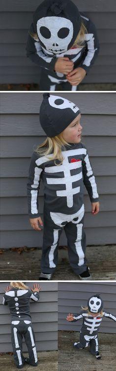 Disfraz de esqueleto.