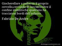 Cartolina con aforisma di Fabrizio De Andre (49)