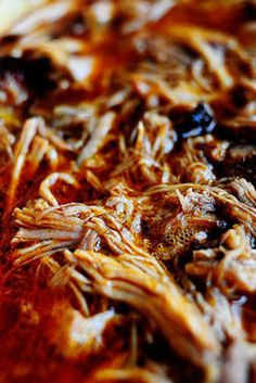 For the Crock Pot: Spicy Dr. Pepper Shredded Pork