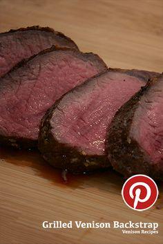 Grilled Venison Backstrap. #venison #meat #cooking #wild #wildgame #backstrap #grill #grilled
