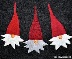 Hobbybruket: Bittelitt jul i oktober!