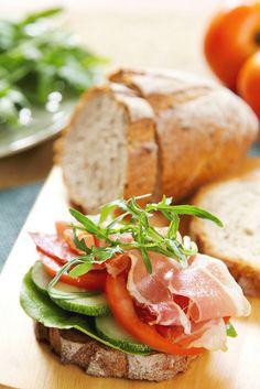 pan , fiembre y vegetales