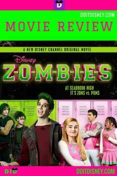 ZOMBIES a Disney Channel Original Movie just came out and Do it Disney has a review for anyone interested in watching it and includes anything parents should be aware of concerning younger Mouseketeers. #dcom #disneymoviereview #dcomreview #disneyzombies #disneychannelzombies