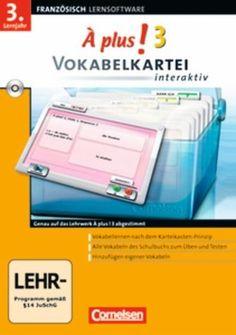 À plus! Band 3 Vokabelkartei interaktiv (PC)