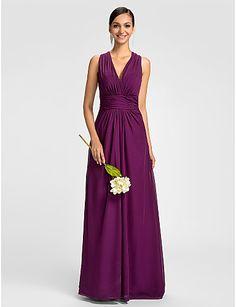 The dress. So we don't lose the page. xx Sheath/Column V-neck Halter Floor-length Chiffon Evening Dress - USD $ 119.99