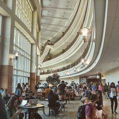 Inside Baylor's BSB, a popular study spot for students.