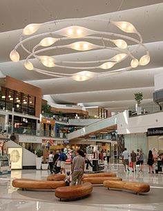 shopping mall seating area - Google Search