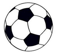 Dibujo de Pelota de fútbol II pintado y coloreado por Tarjeta