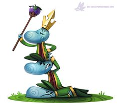 Daily Paint #1016. Happy Birthday, #Rayman by Cryptid-Creations on DeviantArt