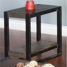 Wessington Chair Side Table #UrbanLoft