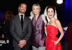 Josh Holloway, Jane Lynch and Abigail Spencer attend the People's Choice Awards 2016
