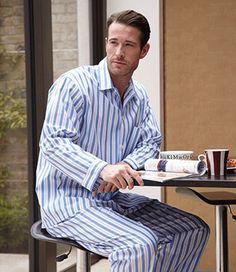 Albany Men's Pyjamas by Bonsoir of London