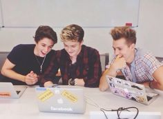 James McVey Connor Ball and Brad Simpson