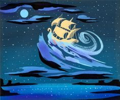 Visual Development from Peter Pan by Mary Blair