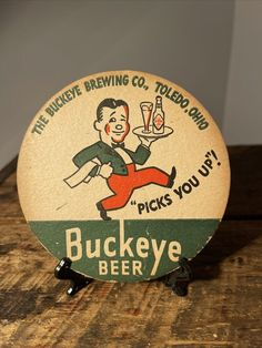 Ohio Buckeyes, Toledo Ohio, Beer Coasters, Brewing Co, Decorative Plates, Home Decor, Decoration Home, Room Decor, Home Interior Design