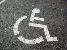 Blue-badge parking for disabled