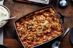 Thomas Keller's Savory Leek Bread Pudding - never tried, looks yummy