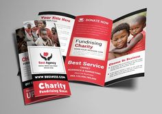Charity Trifold Brochure by AfzaalGraphics on @Graphicsauthor