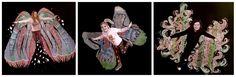 mooi experiment met engelen in kleur!..gemaakt door 2 kinderen van 10 en een leerlinge van 13 jaar