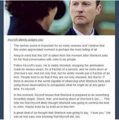 I think watching the show turned us all into consulting detectives. Sherlock, you're not the only one anymore