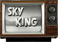 """""""Sky King"""" starring Kirby Grant as Sky, with Gloria Winters as his niece Penny"""