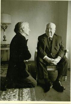 Warhol & Hitchcock :: Interview Magazine, September 1974
