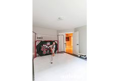 In the lower level, Violet has her own dance room while Oliver has a shooting gallery where he can practise his shot all year round. See more at http://www.ourhomes.ca/articles/build/article/rusticmodern-clutterfree-and-familyfriendly