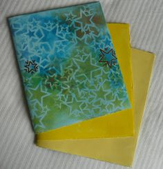 this post has directions for making a journal from one sheet of watercolor paper - Teesha Moore