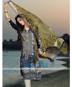 Stitched Pakistani Designer Lawn Collection 2015 By HSY