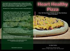 Heart Healthy Pizza cookbook giveaway!